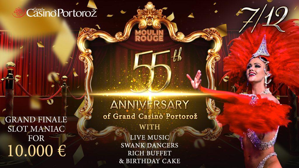 55. Obletnica Grand Casino Portorož